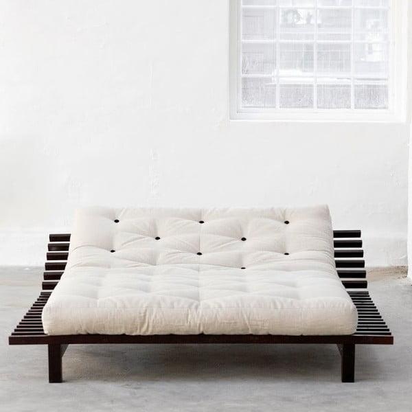 Łóżko Karup Blues Wenge, 200x200 cm