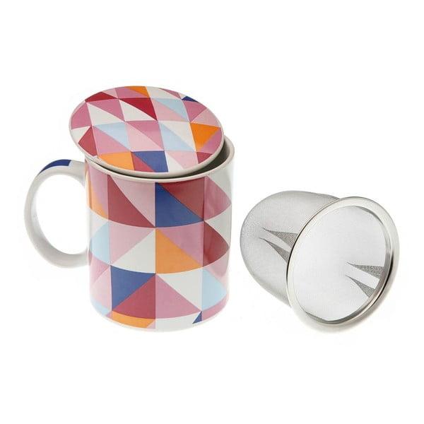 Kubek z sitkiem Geomteric Cup