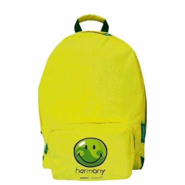 Zielony   plecak Incidence Happy Harmony