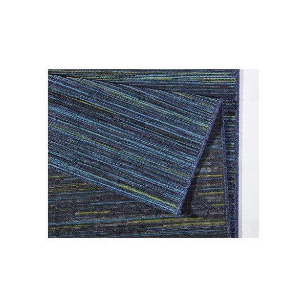 Dywan nadający się na zewnątrz Lotus 120x170 cm, niebieskie paski