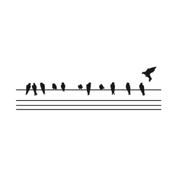 Naklejka Fanastick Birds on the Wire