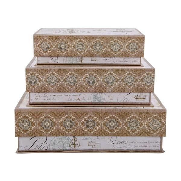 Zestaw 3 pudełek Tri-Coastal Design Large Paris