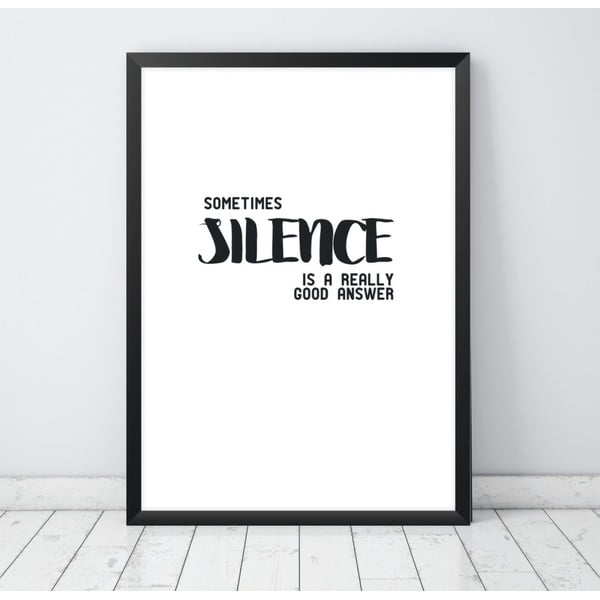 Plakat Nord & Co Silence, 40 x 50 cm