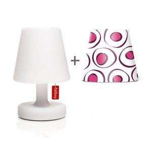 Lampa Fatboy Edison Petit, 25 cm + klosz Mr. Pink