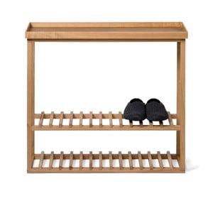 Szafka na buty z półką Hello Storage, naturalny blat