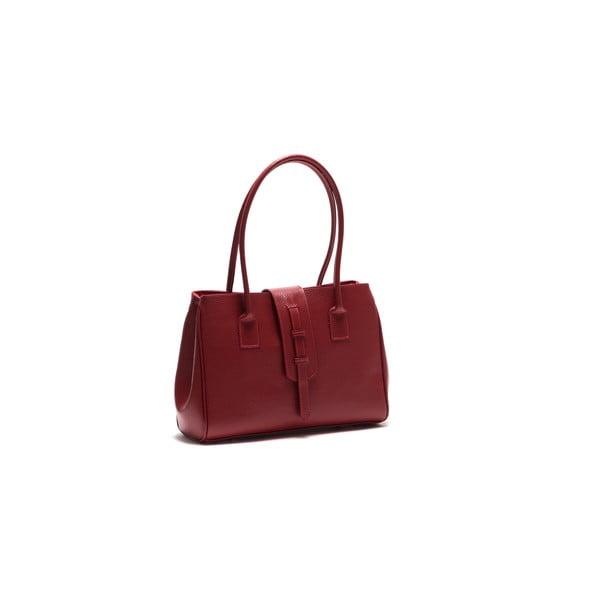 Skórzana torebka Anna Luchini 1170 Rosso