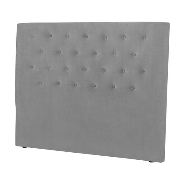 Jasnoszary zagłówek łóżka Windsor & Co Sofas Astro, 160x120 cm