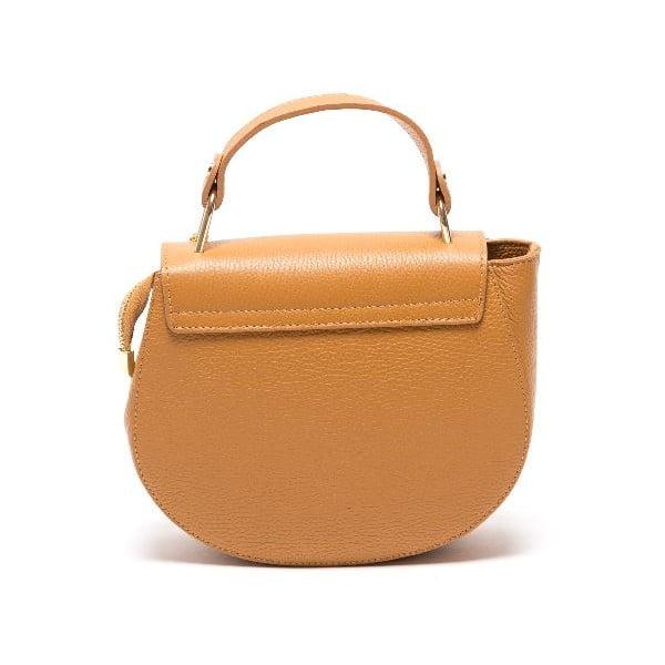 Skórzana torebka Roberta M 1092 Cognac