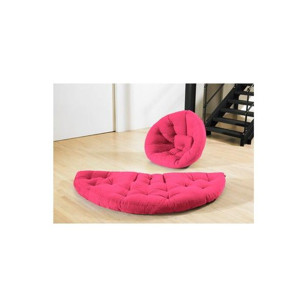 Fotel rozkładany Karup Nest Magenta