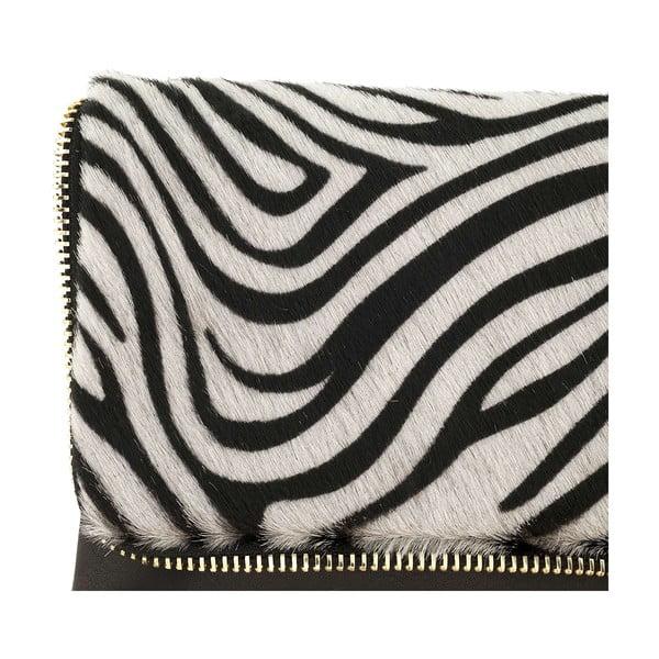 Skórzana torebka Borghe Zebra