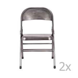 Szare krzesło Red Cartel Telma