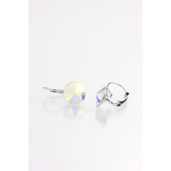 Kolczyki z kryształami Swarovskiego Yasmine Longie Clear