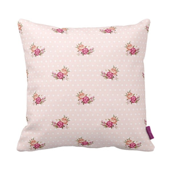 Poduszka Rose Pink, 43x43 cm