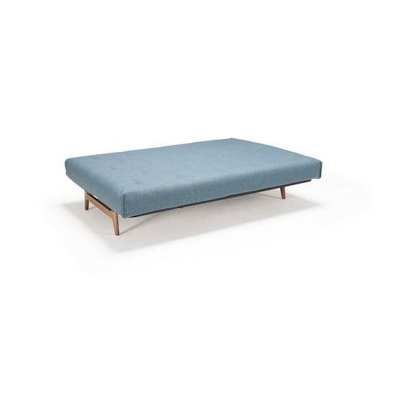 Ciemnoturkusowa sofa rozkładana Innovation Aslak