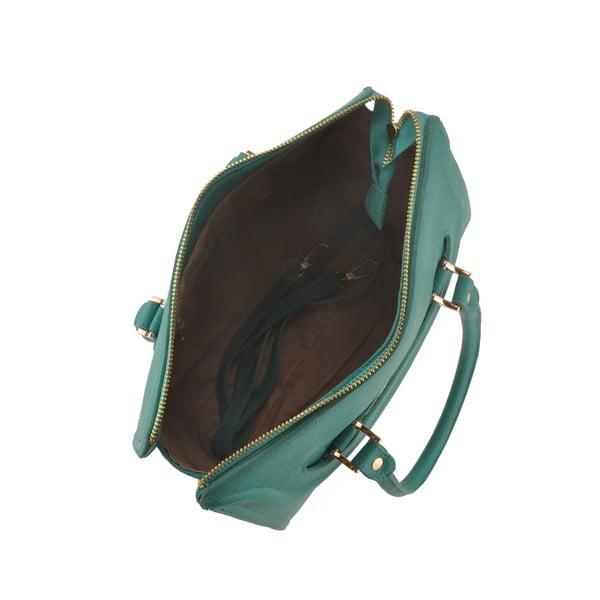 Skórzana torebka Grafias, zeleno-niebieska