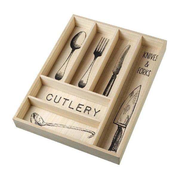 Wkład na sztućce do szuflady Vintage Cutlery