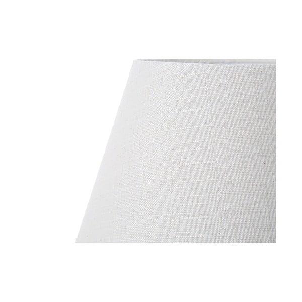 Biała lampa stołowa Bolzonella