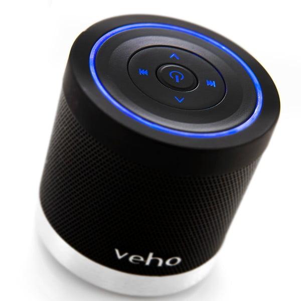 Czarny mini głośnik Veho Bluetooth 360BT z kartą Micro SD