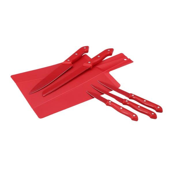 Komplet deski składanej i 5 noży Renberg Cut