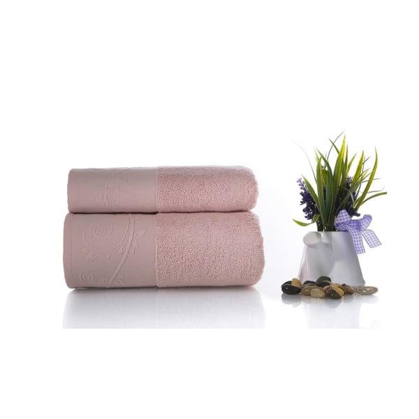 Zestaw 2 ręczników Indigo V3, 50x90 cm + 70x140 cm