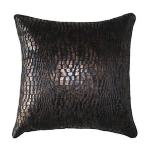 Poduszka Brown Crocodile, 45x45 cm