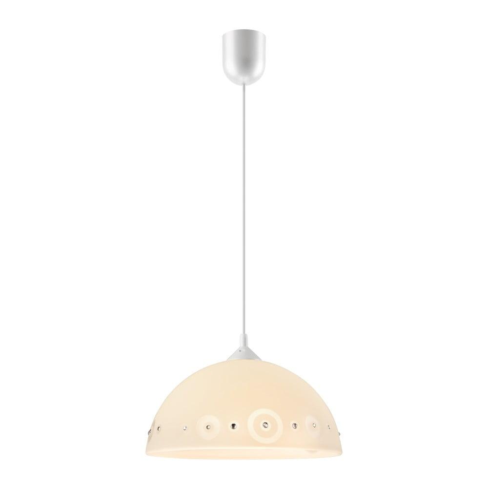 Beżowa lampa wisząca Lamkur Dots