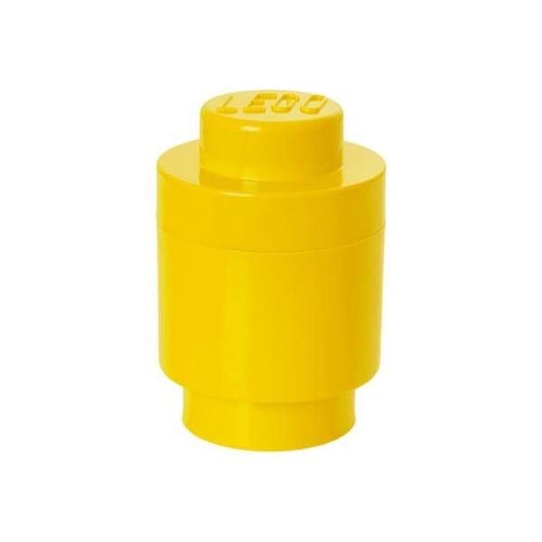 Żółty pojemnik okrągły LEGO®