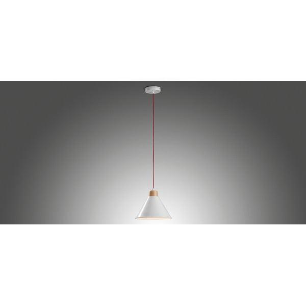 Biała lampa wisząca La Forma Bobs