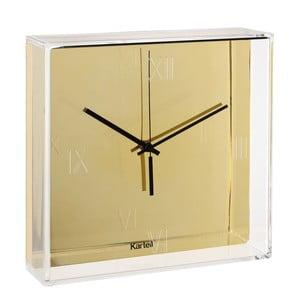 Złoty zegar wiszący Kartell Tic & Tac New