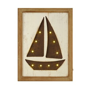 Obraz świecący Artesania Esteban Ferrer LED Sailing Boat