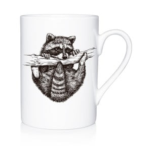 Porcelanowy kubek Playful Racoon, 300 ml