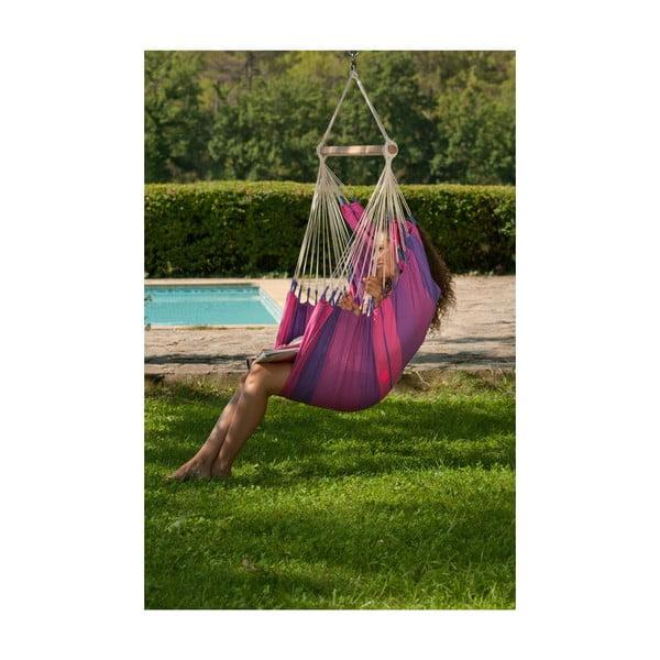 Krzesło-Hamak  Orquidea, fioletowe