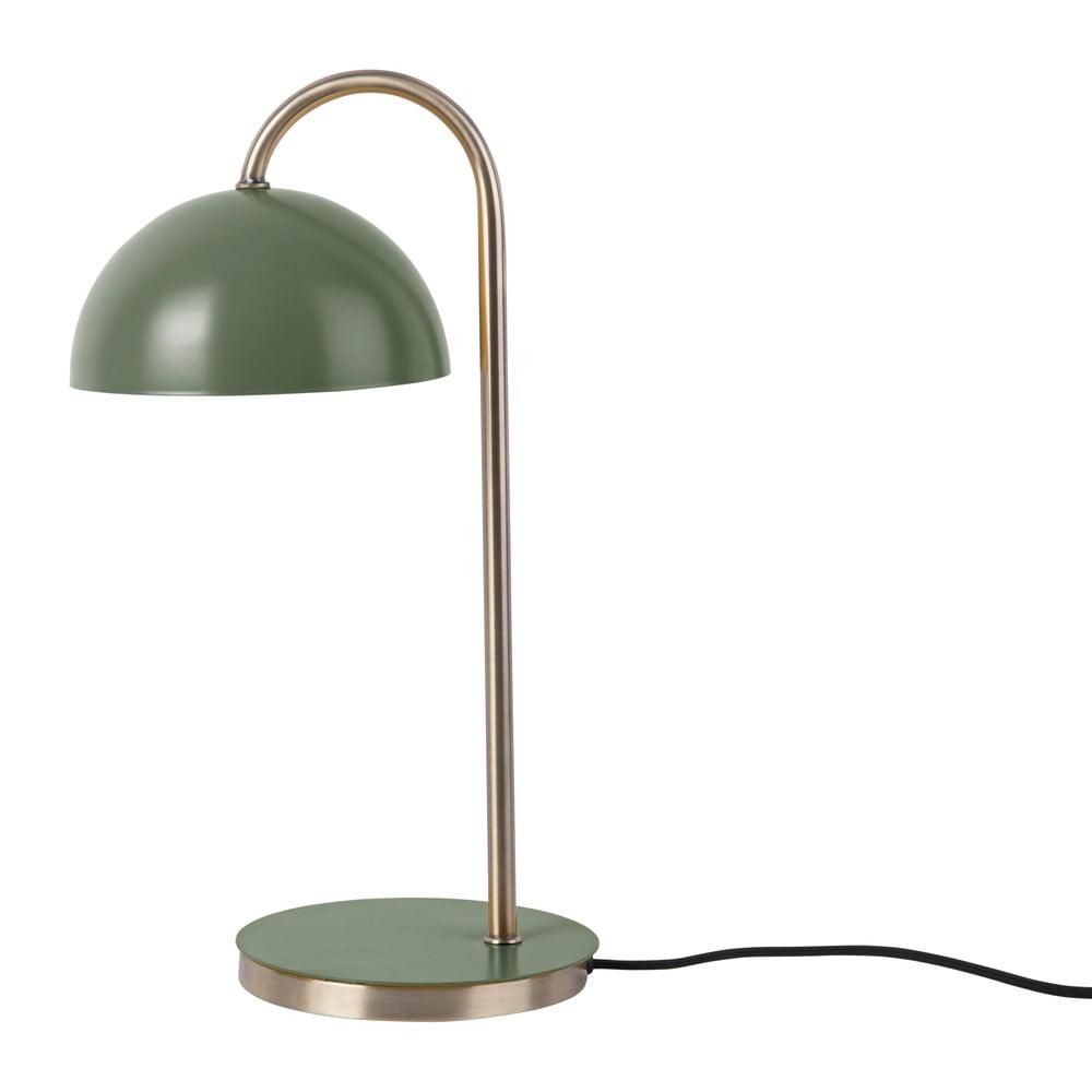 Lampa stołowa w zielonym matowym kolorze Leitmotiv Decova