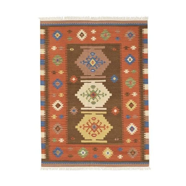 Ręcznie tkany dywan Kilim Classic K08 Mix, 155x215 cm