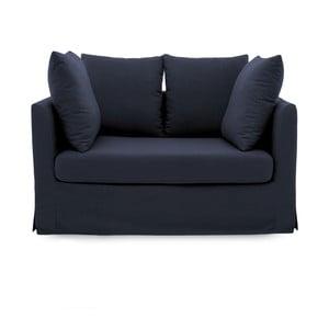 Granatowa sofa dwuosobowa Vivonita Coraly