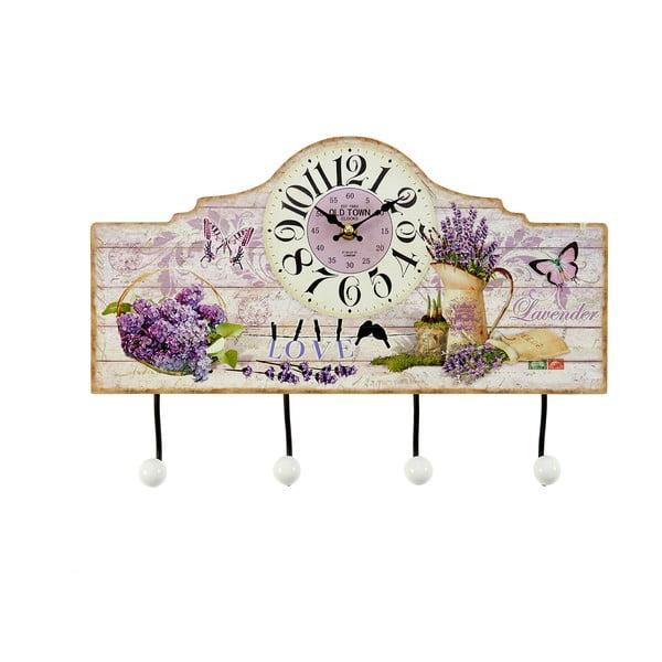 Drewniany wieszak Lavender, 39x26 cm