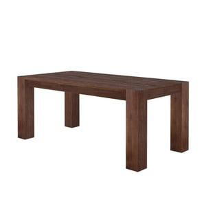 Ciemny stół z drewna mangowego Støraa Mabel, 100x220cm