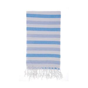 Ręcznik hammam Didim Blue, 100x180 cm