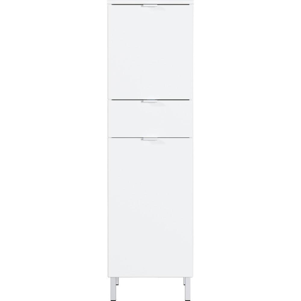 Biała szafka Germania Mauresa, wys. 120 cm