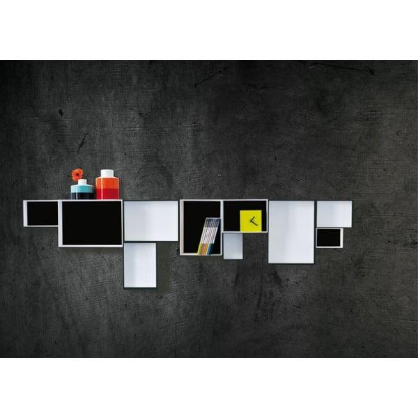 System półek Black & White
