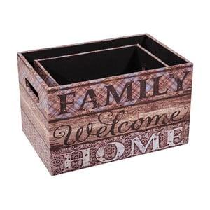 Zestaw 3 pudełek Family