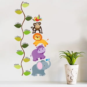Naklejka dekoracyjna na ścianę Centymetr Dżungla