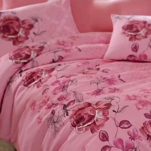Komplet pościeli Angle Pink Purple, 200x220 cm