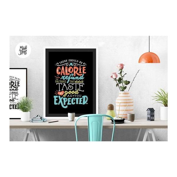 Plakat Calorie Refund, A3