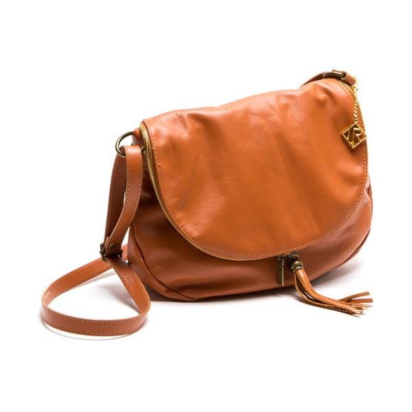Skórzana torebka Isabella Rhea 2053 Cognac