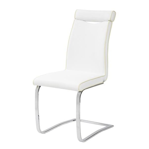 Krzesło Clarence, białe