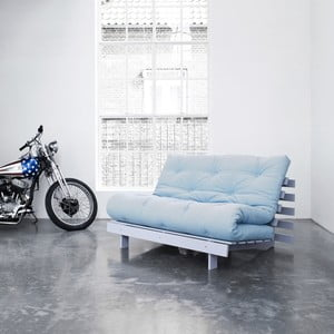 Sofa rozkładana Karup Roots Cool Gray/Celeste