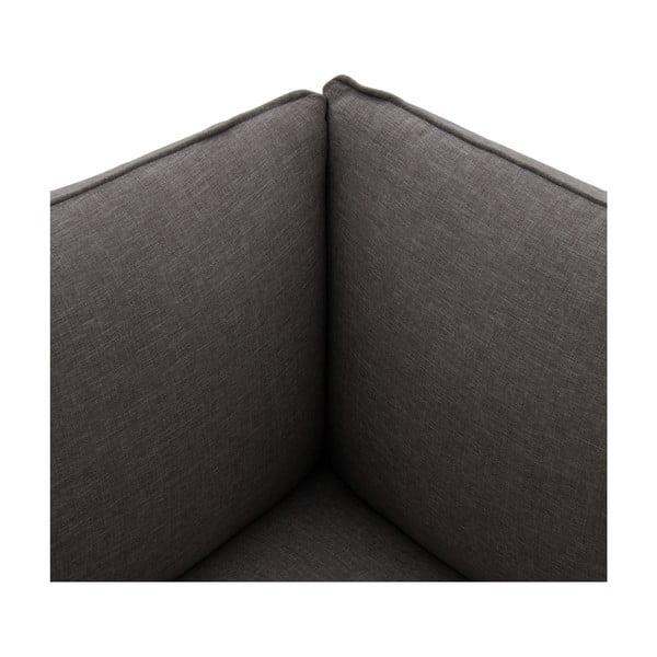 Moduł lewostronny do sofy VIVONITA Cube Dark Grey