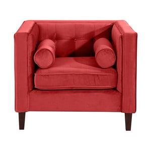 Czerwony fotel Max Winzer Jeronimo