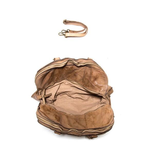 Skórzana torebka Anna Luchini 6 Fango